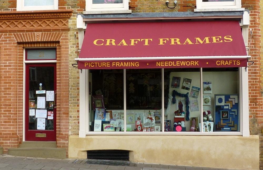 Craft Frames website
